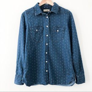 Triple Five Soul Denim Star Shirt